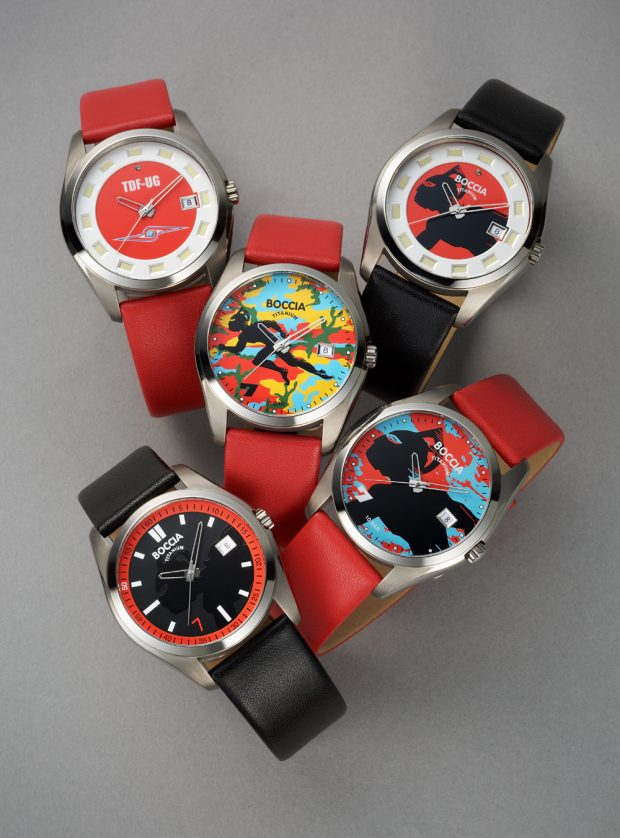 Ultraseven watches by BOCCIA